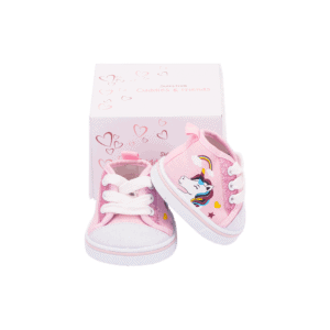 נעליים ורודות חד קרן
